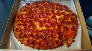 Donatos_Pepperoni Pizza
