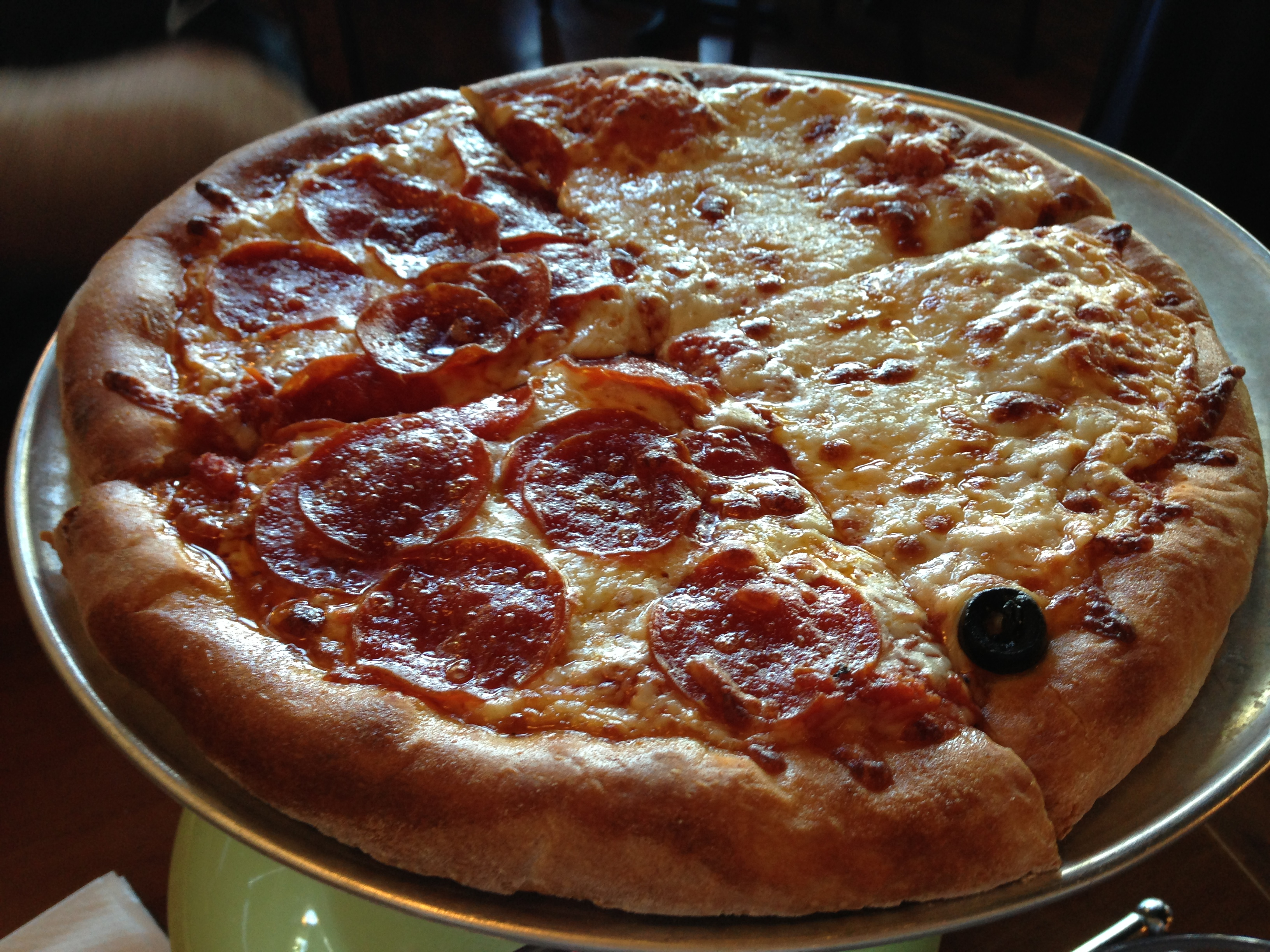Tony s brick oven pizzeria review gulfport ms for Pizza pizzeria