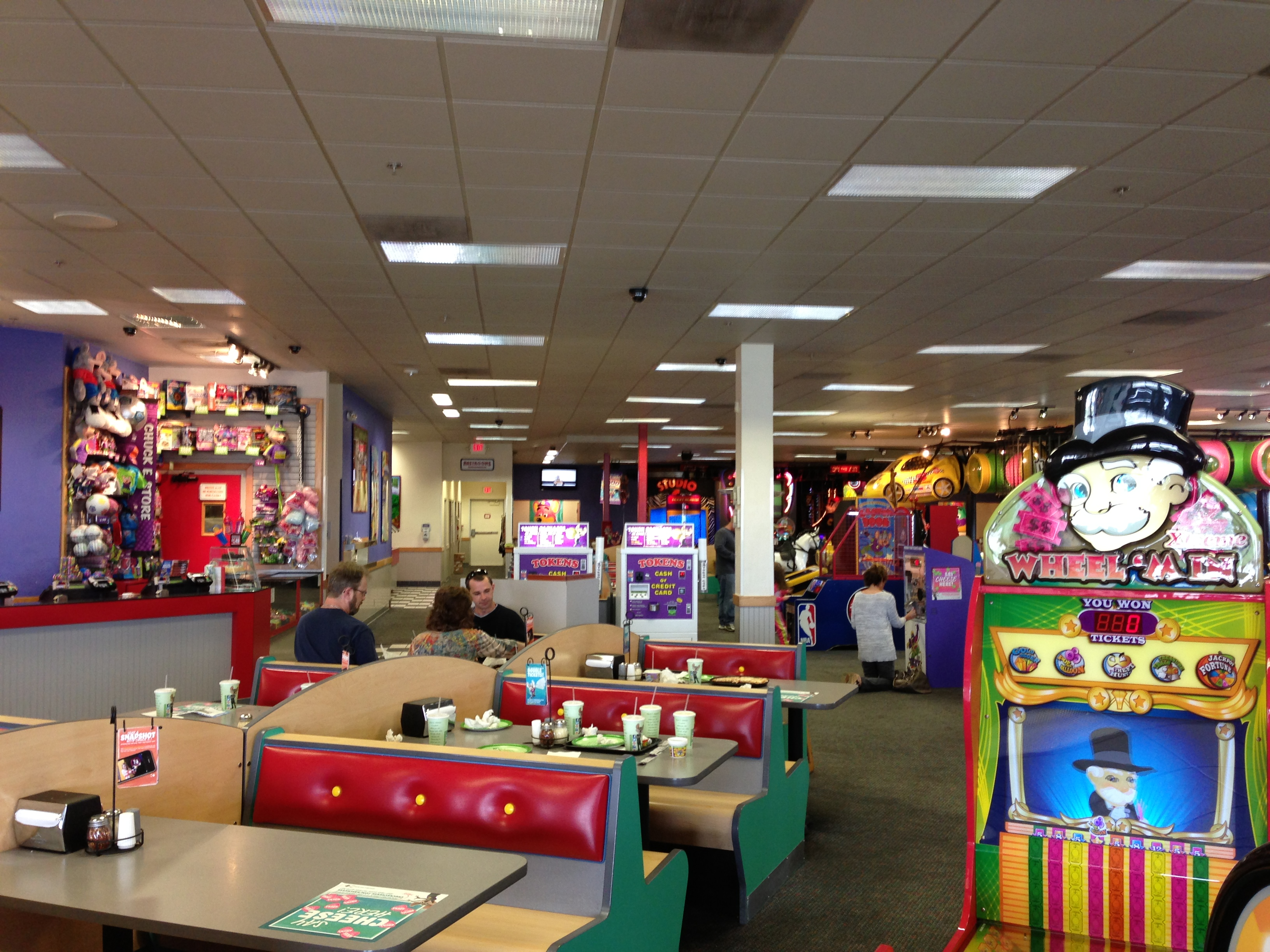 The Pizza Fan 187 Chuck E Cheese S Indianapolis In