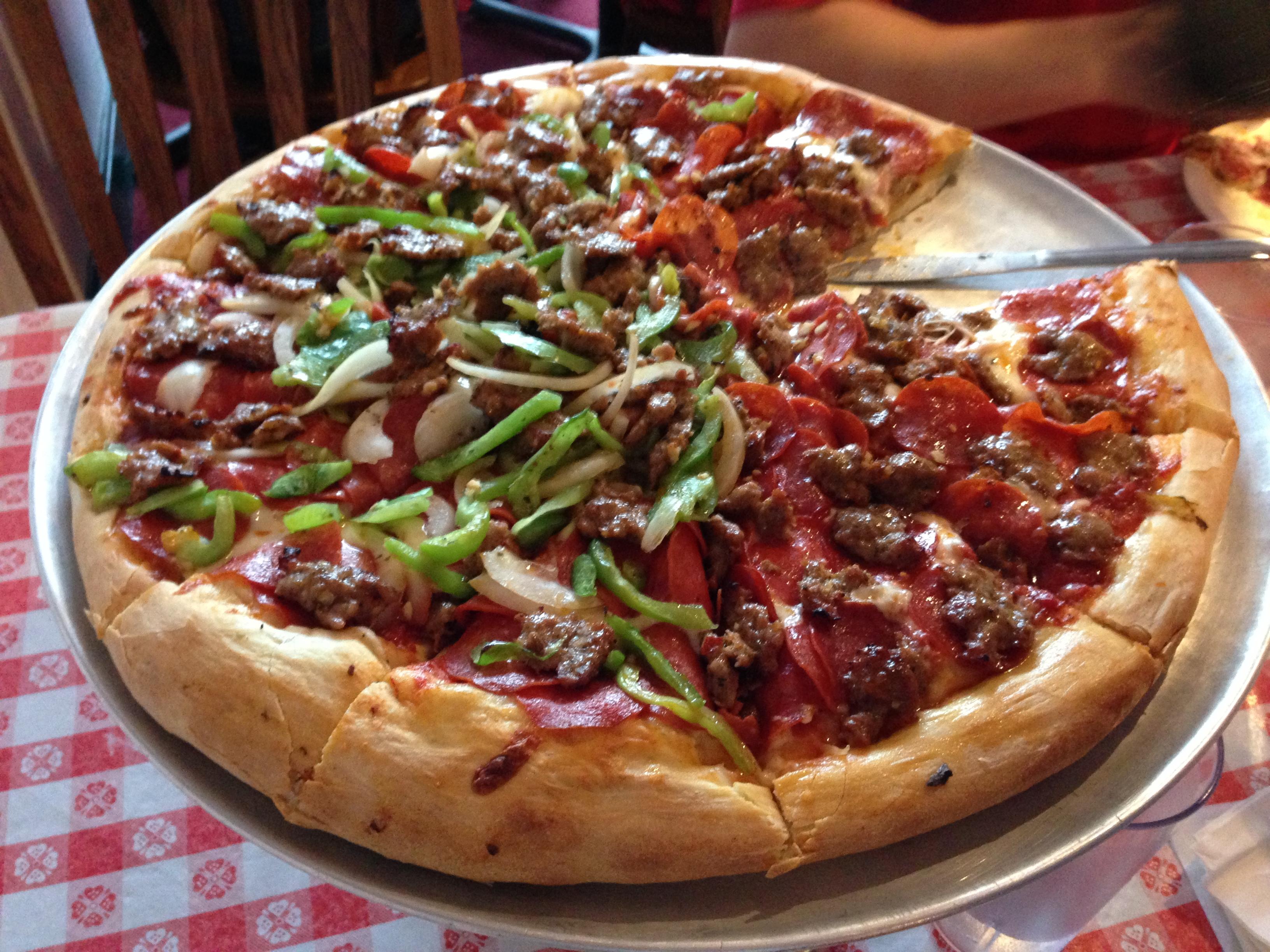 Flying pie pizzeria dress code for Pizza pizzeria