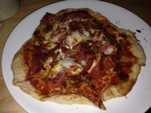 The Olde Mecklenburg Brewery_Butchers Block Pizza