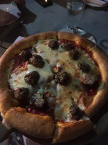 Housemade Meatball Pizza