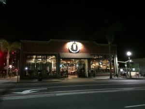 Storefront of Pizza Port in Carlsbad