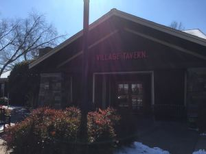 Storefront of Village Tavern