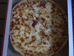 Extra Cheese Pan Pizza