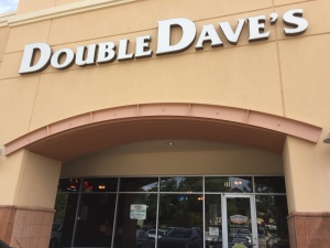 Storefront of DoubleDave's in The Woodlands