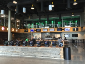 Inside Flix Brewhouse