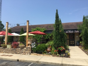 Storefront and Patio Dining Area